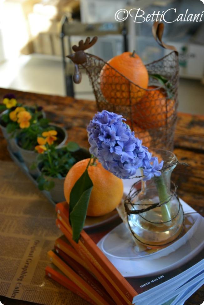 arance e giacinto