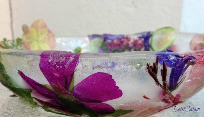 contenitore ghiaccio e fiori 002