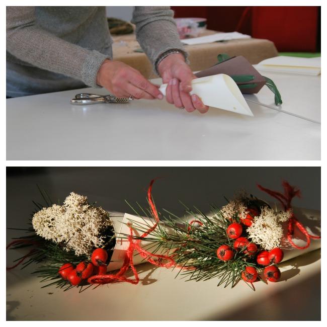 Composizioni floreali con le bacche passeggiandoingiardino for Arance essiccate decorazioni