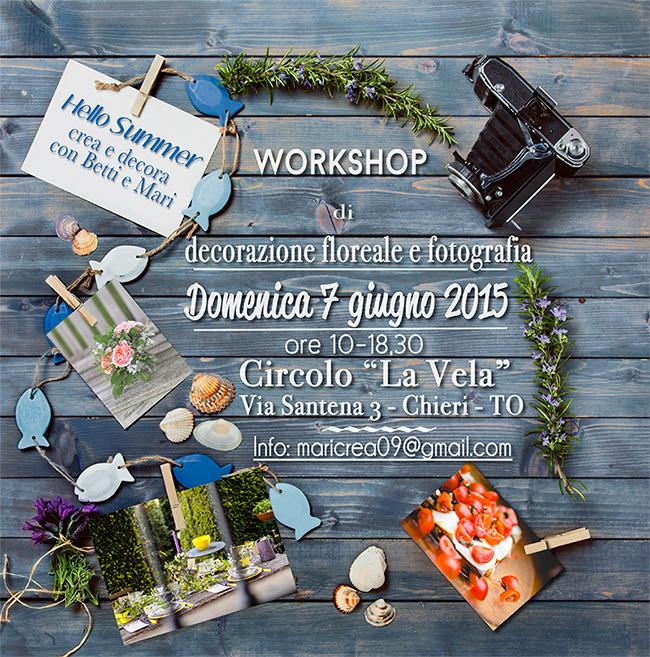 workshop Flower&Photo